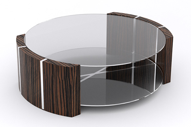 Product visualisation for prototype coffee table design